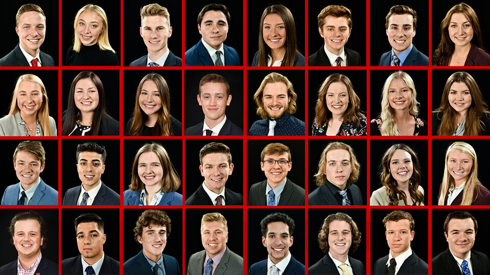 The 2020 Clifton Builders are (top row, from left) Nicholas Anderson, Brook Bowman, Jake Bowman, Nicholas Chapa, Olivia Dohmen, Caleb Druckemiller, Charlie Dutton and Lauren Eihusen; (second row, from left) Maddie Elbracht, Grace Fuller, Bailey Hanus, Nathan Hauser, Anthony Heiman, Maria Heyen, Hailey Hutfless and Elizabeth Jardee; (third row, from left) Jack Johnson, Robert Khorram, Grace Laflen, Trevor LeGrande, Patrick Malec, Mason Mattes, Julia Michener and Ridley Miller; (bottom row, from left) Zach Molzer, Eduardo Mora, Alex Mueller, Alex Nielsen, Jace Noble, Thomas Rouse, Jacob Wiese and Jacob Zadalis. Not pictured are Carter Baune, Sam Lilly and McLean Witte.