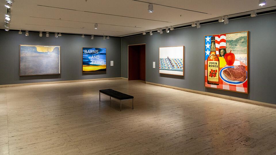 "The reimagined ""Sheldon Treasures"" exhibition runs through July 3 at Sheldon Museum of Art."