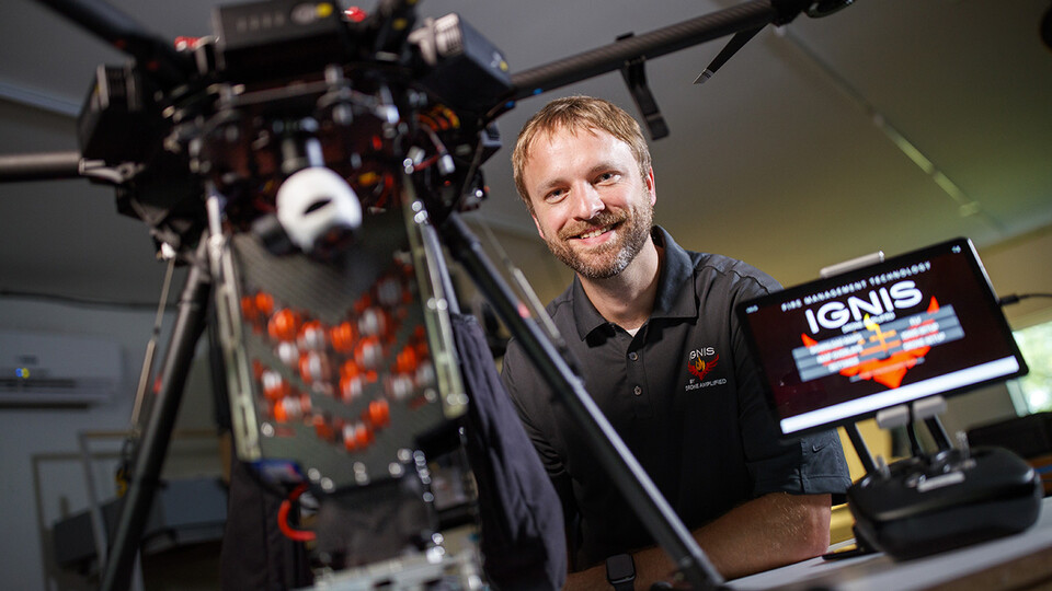 Carrick Detweiler, Susan J. Rosowski Associate Professor of computer science and engineering at Nebraska, has been elected a senior member of the National Academy of Inventors.