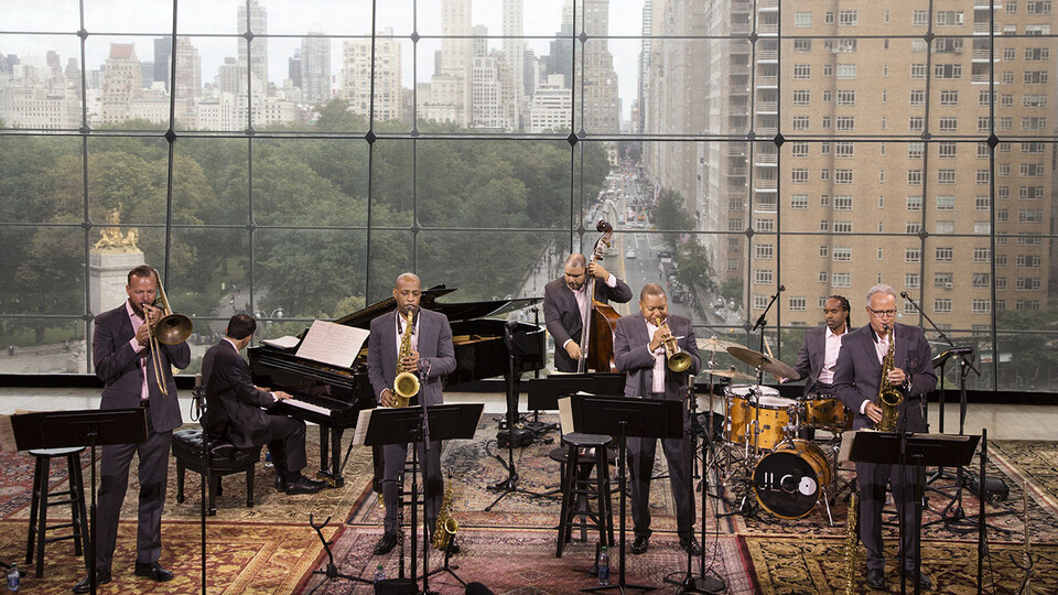 """The Jazz at Lincoln Center Orchestra Septet featuring Wynton Marsalis will perform """"The Democracy! Suite"""" during a virtual concert at 7:30 p.m. April 3."""