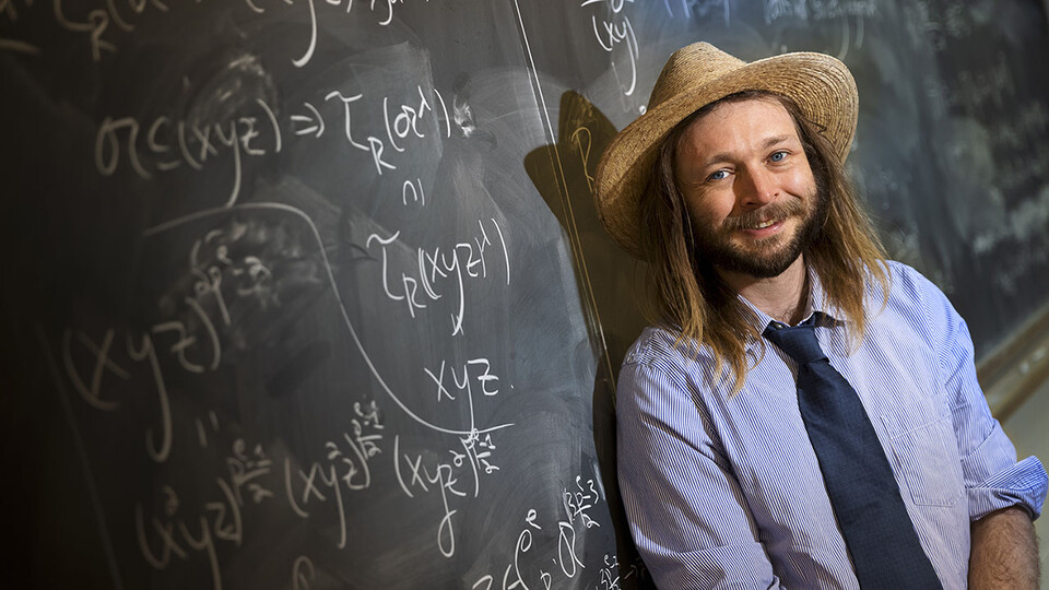 Jack Jeffries, assistant professor of mathematics at Nebraska, has earned his department's first-ever Faculty Early Career Development Program award from the National Science Foundation. He will use the $400,000, five-year grant to advance his research in commutative algebra.
