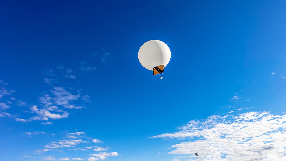 On April 24, the Nebraska Big Red Satellite team will launch its first high-altitude balloon with six test payloads as a precursor to the NASA CubeSat Launch Initiative. The test will occur at the Strategic Air Command and Aerospace Museum in Ashland.