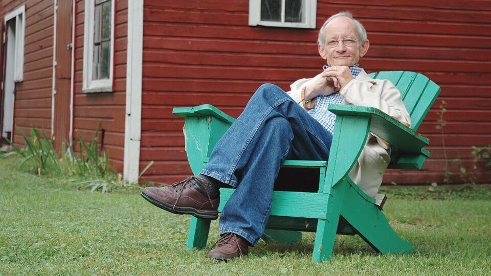 Former U.S. Poet Laureate and Presidential Professor Emeritus Ted Kooser