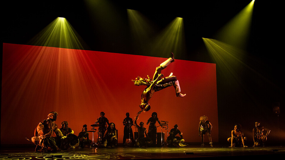 STEP AFRIKA! will perform at the Lied Center on Sept. 17.