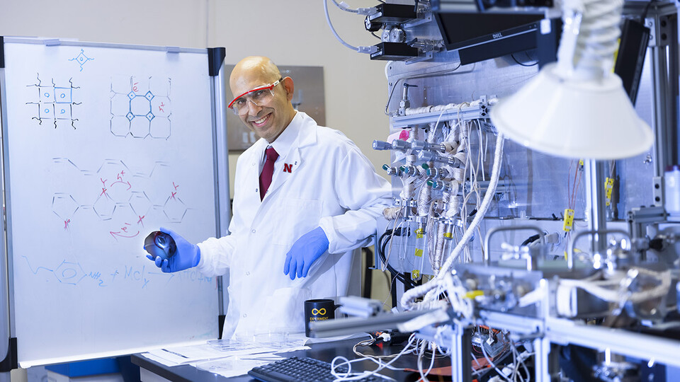 Siamak Nejati, assistant professor of chemical and biomolecular engineering at Nebraska, has received a five-year, $593,240 Faculty Early Career Development Program grant from the National Science Foundation to build on his previous research on molecular structures.