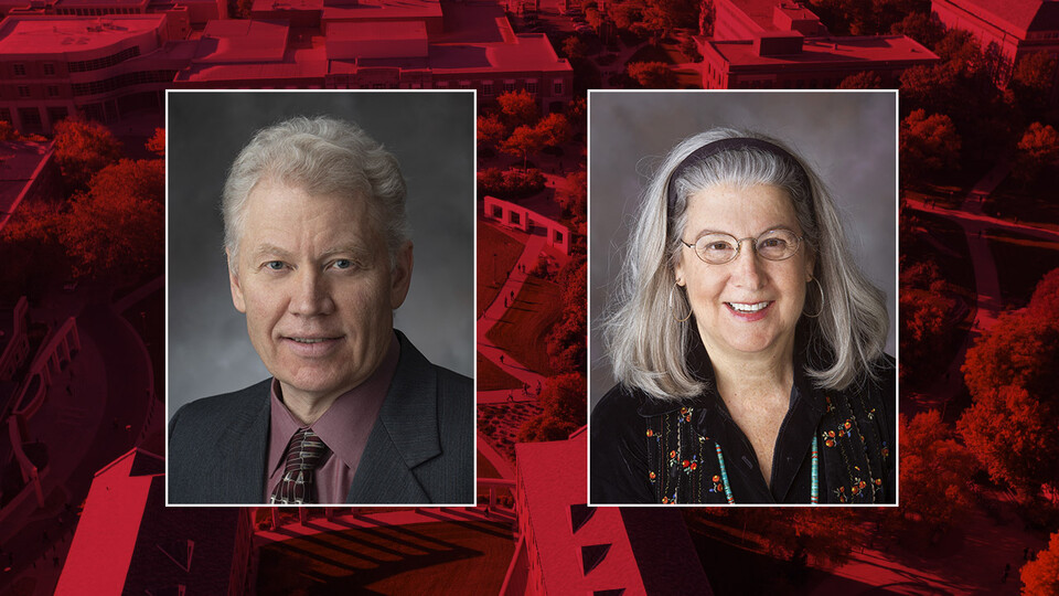 Ross Secord and Judy Diamond