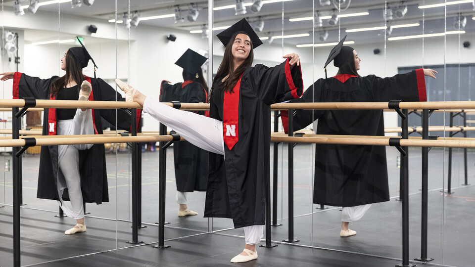 Anamaría Guzmán Cárdenas has been actively involved across campus, including as an NSE orientation leader. She created her own degree program in neuroscience. After graduation, she's getting her master's degree in the movement and dance therapy, combining her passions for dance and neuroscience.