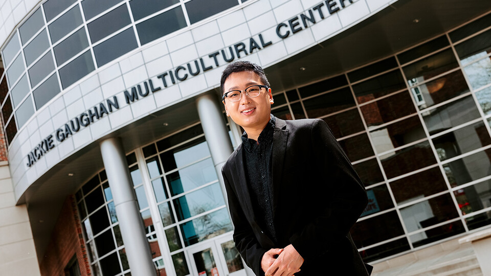 Tamayo Zhou, a master's student in Educational Administration with Student Affairs Administration specialization, has organized events and created resources to help the campus and Lincoln community recognize and stop racism against Asian Americans.