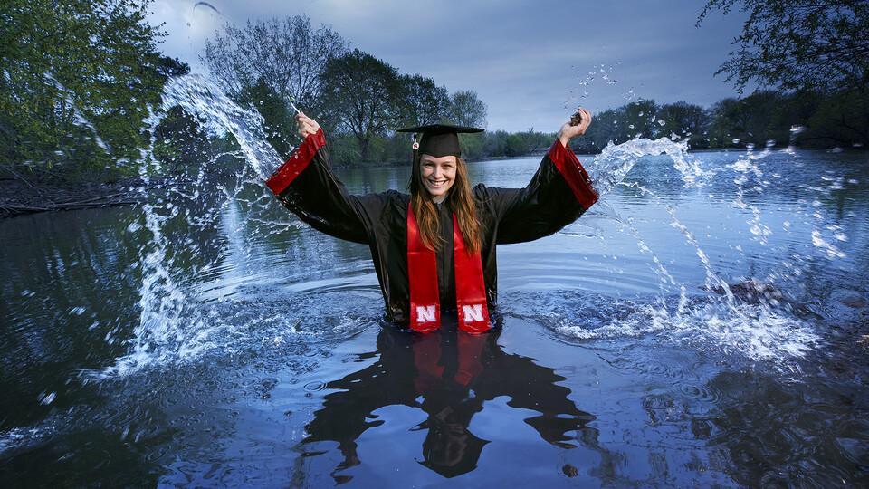 Kayla Vondracek will graduate May 8.