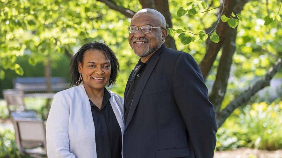 Lorna and Kwame Dawes