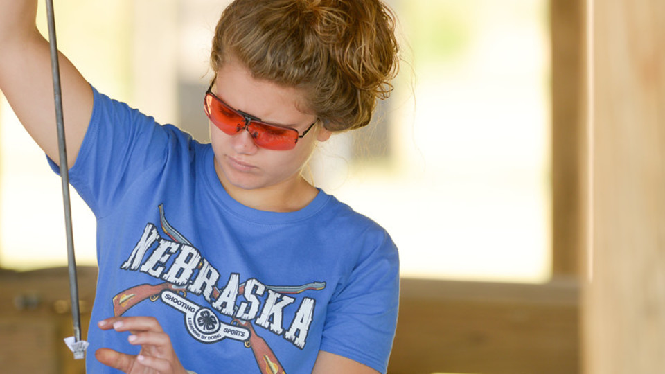 Nebraska 4-H member participates in the 2017 4-H Shooting Sports National Championships