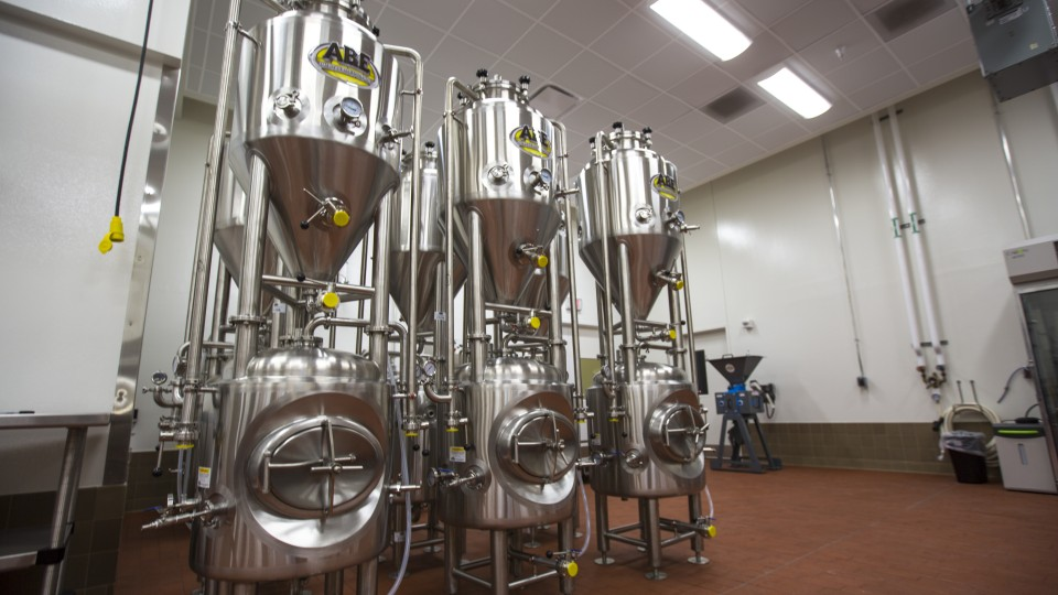New brewing equipment will be brought online this spring at Nebraska Innovation Campus. It will be available to researchers, students and industry partners.