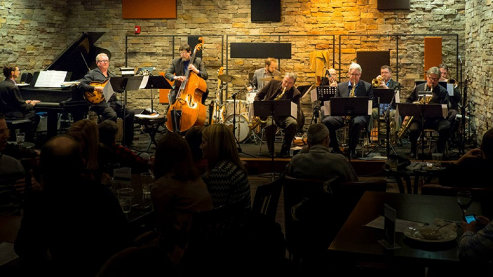 Tim Doherty's 9plus1 will play the Jazz in June series finale on June 28. The concert is free and open to the public.