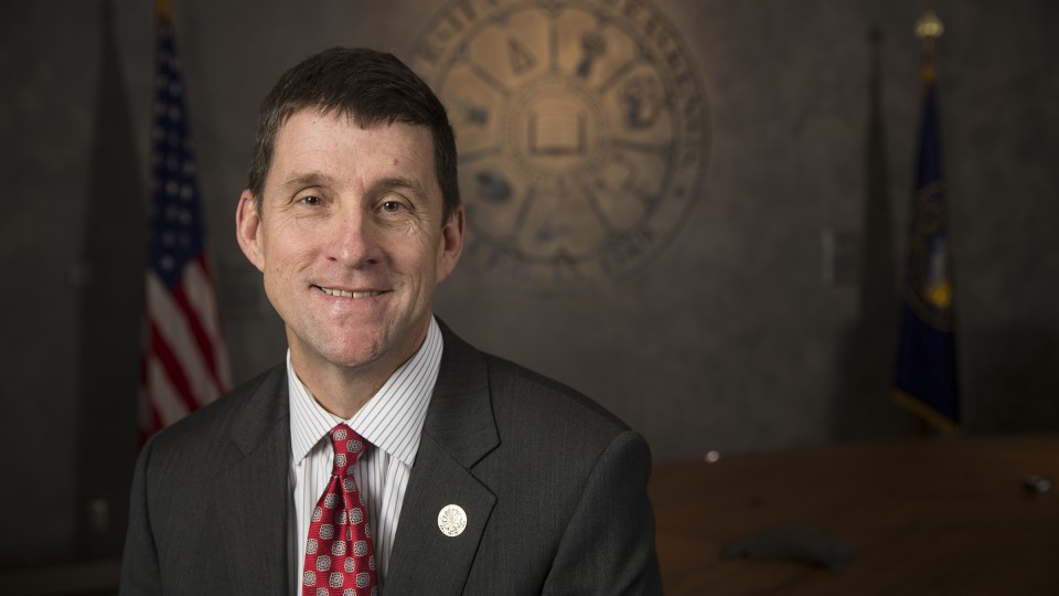 Hank Bounds, University of Nebraska president