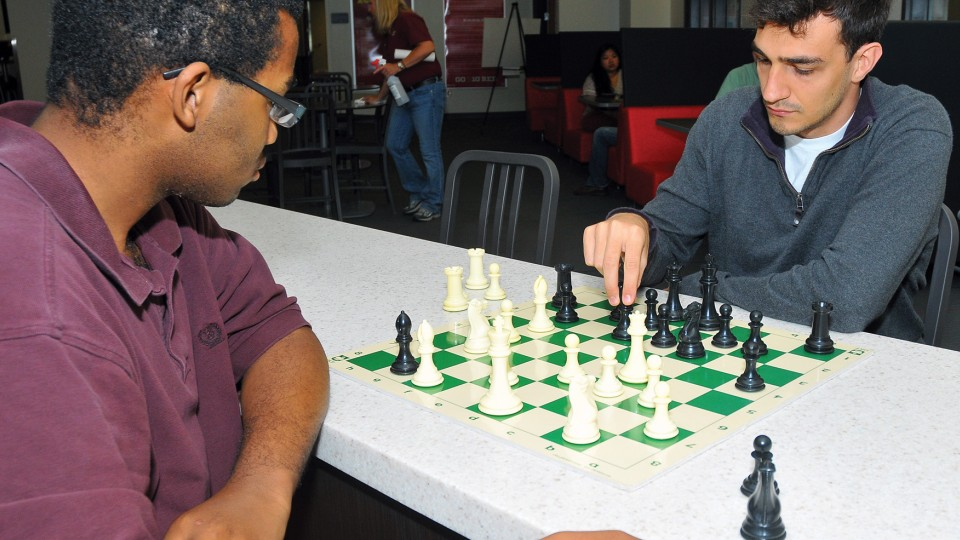Pick-up chess game