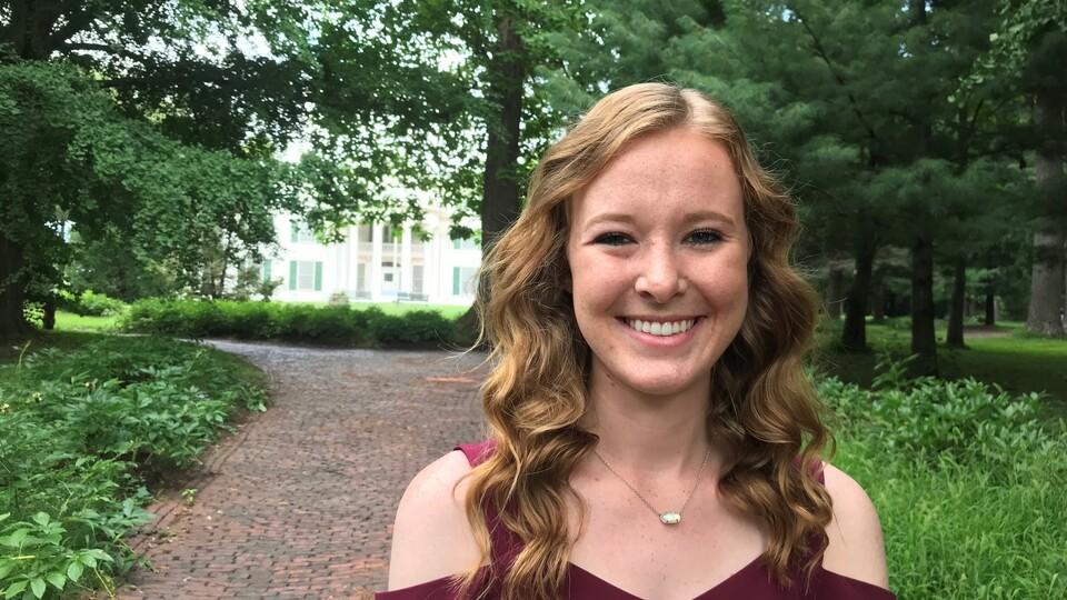 Chloe Higgins, of Nebraska City, served as the Hometown Intern coordinator in her second year as a Nebraska Community Foundation intern.