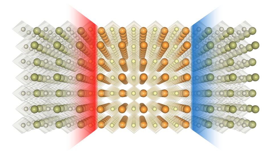 Parallel emergence of electron gas and gas of positively charged holes