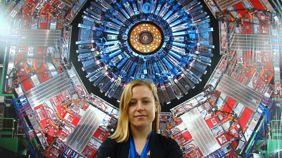 Rebeca Gonzalez Suarez at Large Hadron Collider