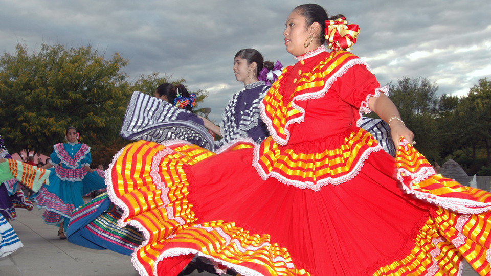 Dancers perform during the University of Nebraska–Lincoln's Fiesta on the Green. The annual event will be Sept. 14.