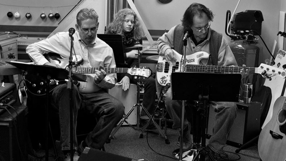 UNL's Stephen Buhler (from left), Kelly Stage and Jack Vespa are members of the band Tupelo Springfield. The band will play at 6 p.m. Feb. 7 at the Zoo Bar, 136 N. 14th St., as part of the Lincoln Exposed 2015 music festival.