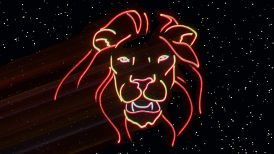 "An image from ""Laser Safari."""