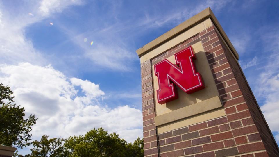 University of Nebraska City Campus entrance gate