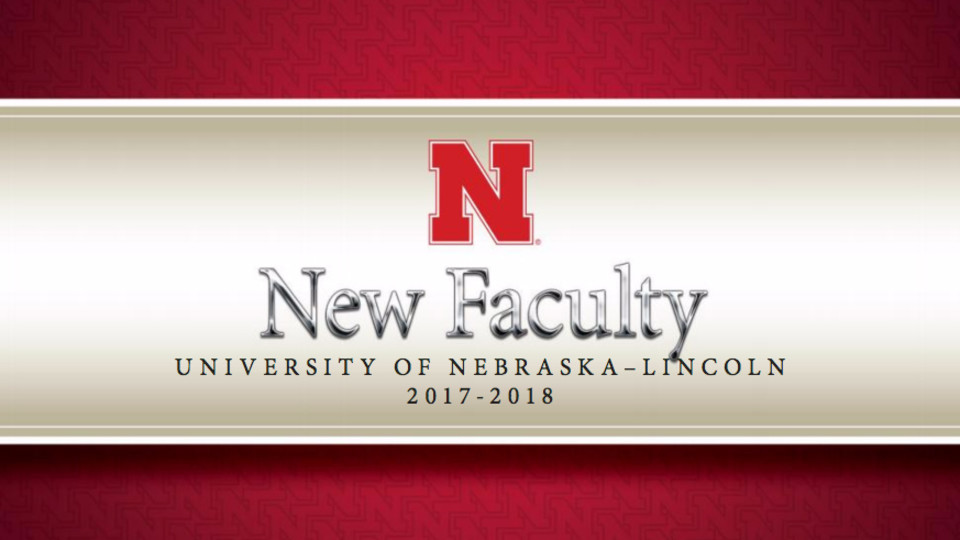 New Faculty 2017-18 brochure cover