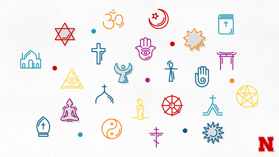 Student researchers found that campus religious affiliation is similar to Nebraska, where Christianity is dominant, but also that a wide variety of religions are also practiced.