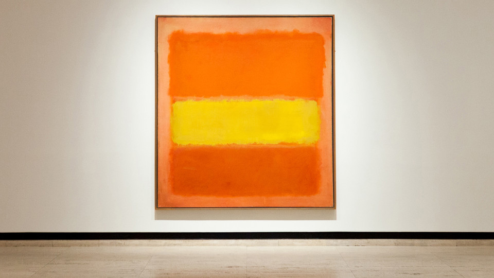 """Yellow Band,"" a painting by Mark Rothko, will be featured during a Nov. 9 talk by the artist's son, Christopher Rotko."