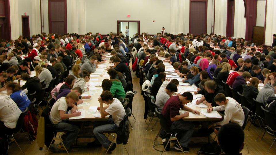 A Math Day event in UNL's Nebraska Union.