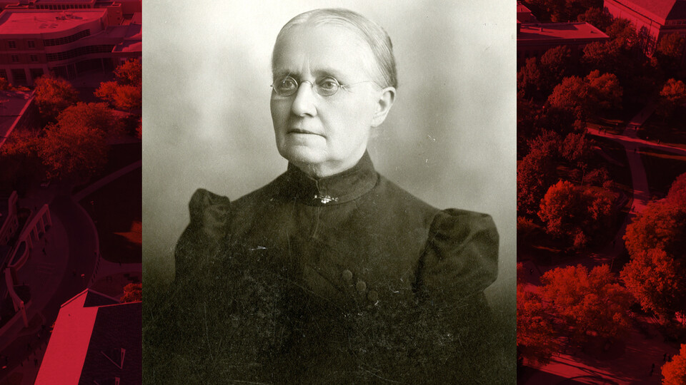 Ellen Smith was the university's first female faculty member, leading the classics department. She also led the library and served as the first registrar.