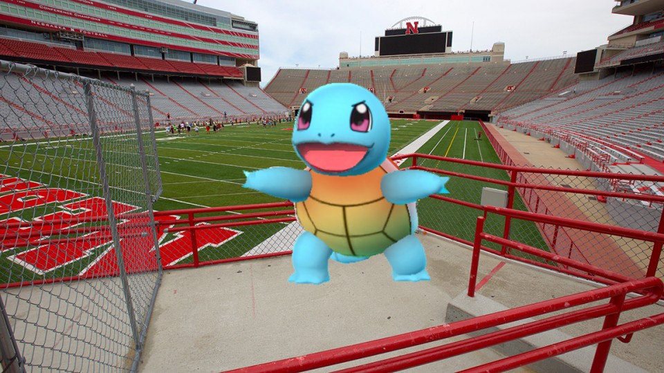 UNL will open Memorial Stadium for Pokémon Go players from 4 to 6 p.m. July 14.