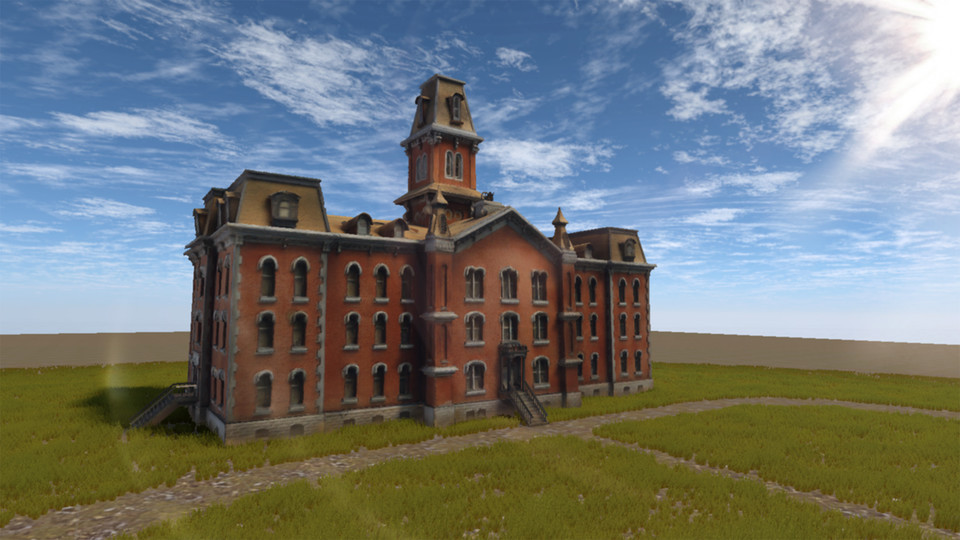 A collaboration between Nebraska faculty and NET artists is creating a virtual reality version of University Hall, the first building on campus. The project has started with an exterior walk around and, in the future, will include a look at the building's interior.