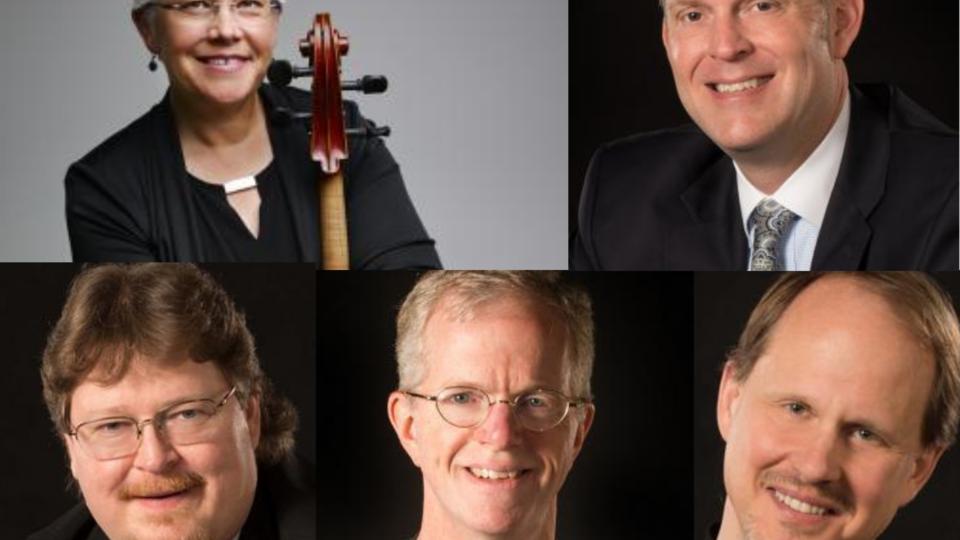 David Neely, Clark Potter, Karen Becker, Hans Sturm, and Mark Clinton