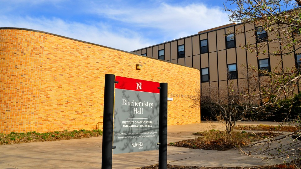 UNL's Biochemistry Hall will be razed in May to make way for a new East Campus residence hall. The new hall will include an estimated 370 beds, offering both traditional residence hall and apartment-style units.