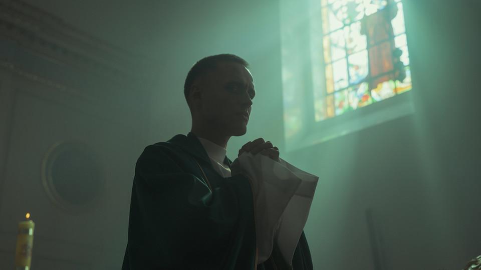 "Bartosz Bielenia stars in ""Corpus Christi,"" a film which opens Feb. 28 at the Ross."