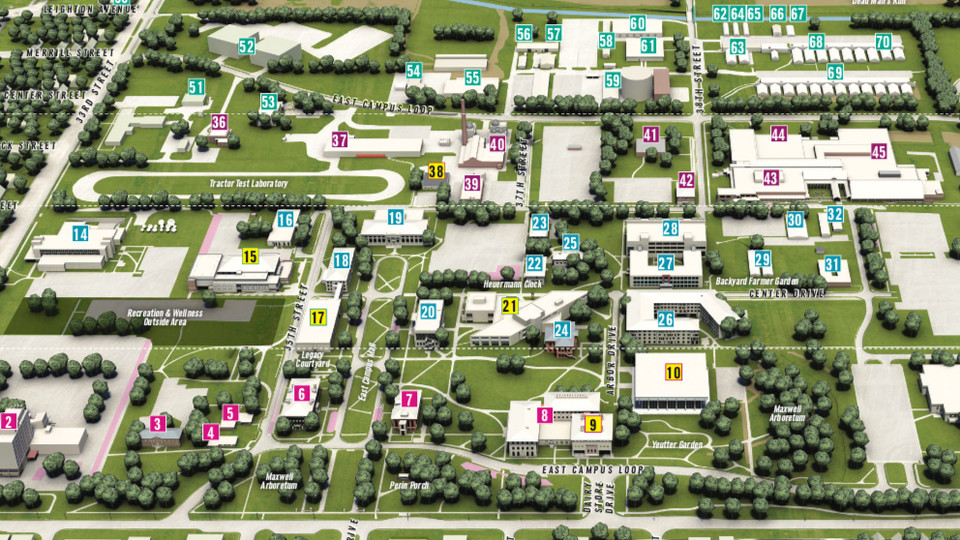 Unl City Campus Map Updated campus maps available | Nebraska Today | University of