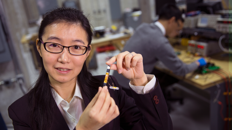 Liyan Qu, assistant professor, electrical and computer engineering, ecently earned a five-year, $500,000 Faculty Early Career Development Program Award from the National Science Foundation to develop a next-generation power grid transformer.