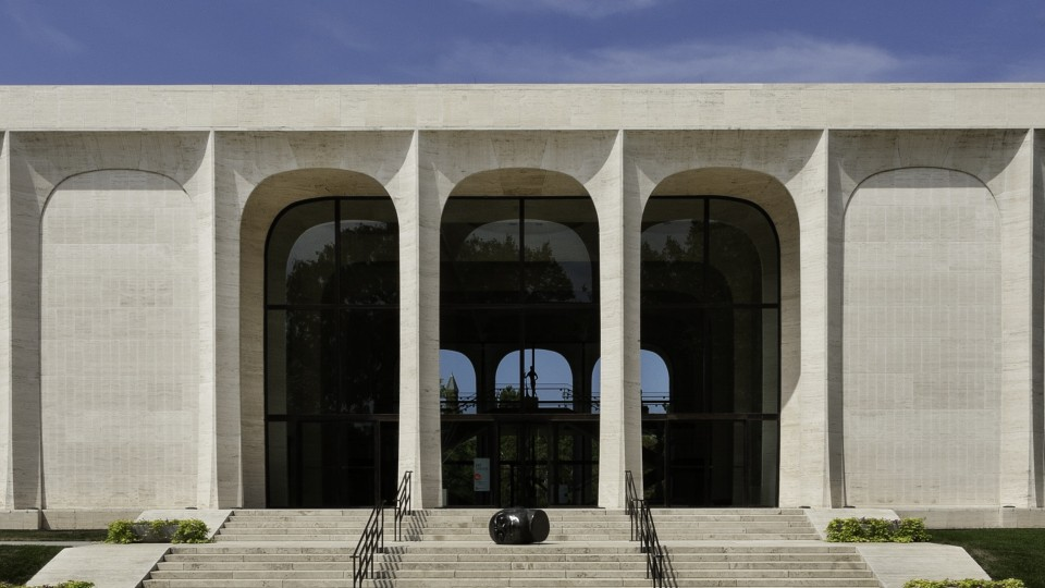 The Sheldon Museum of Art.