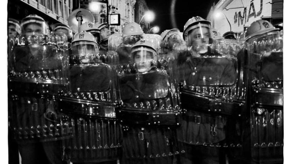 Student Protests Prague