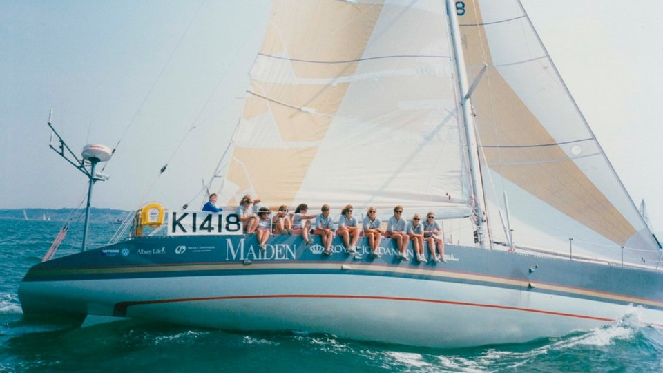 """Opening Aug. 9, """"The Maiden"""" features a story about an all-woman crew that left an everlasting mark on the male-dominated world of sailboat crew."""