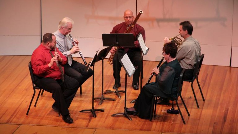 The Moran Woodwind Quintet, UNL's resident faculty quintet, will perform at 7:30 p.m. March 19 in Kimball Hall.