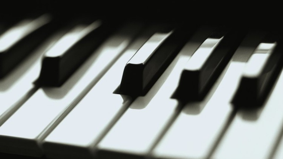 Something is. Piano lesson for adult