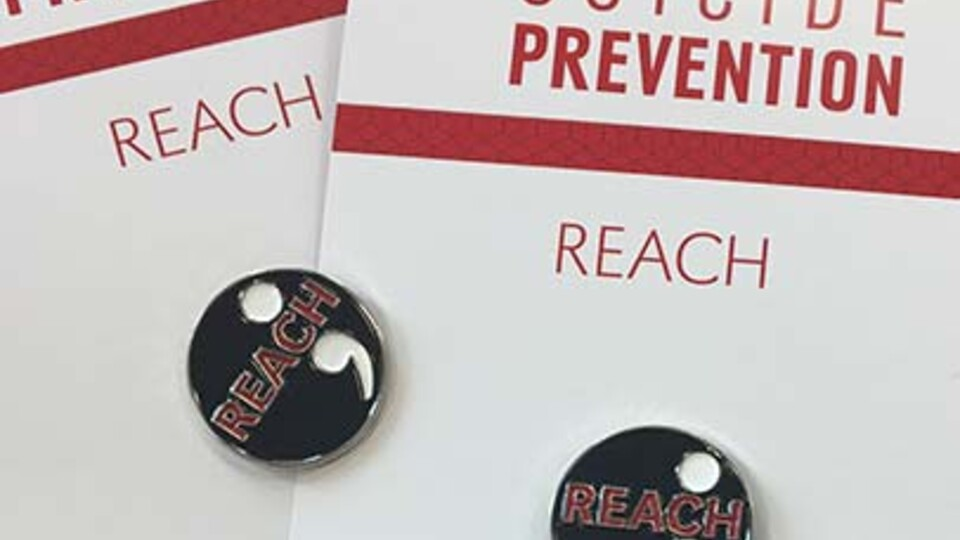 REACH, an acronym that stands for the steps in the process of preventing suicide, teaches participants to: recognize warning signs, engage with empathy, ask directly about suicide, communicate hope, and help suicidal individuals access care and treatment.