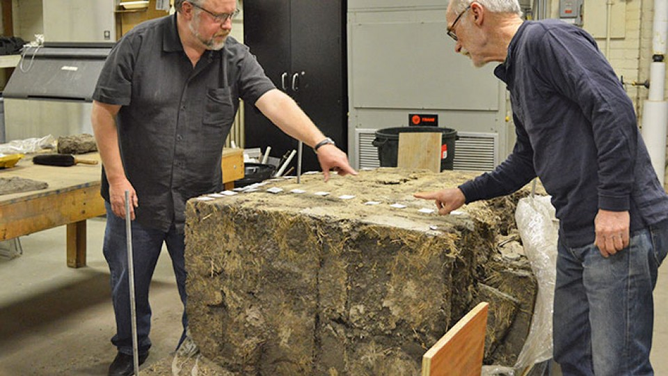 A team of interdisciplinary researchers has begun analysis on part of a 110-year-old sod house that was once home to a group of Custer County, Neb., pioneers.