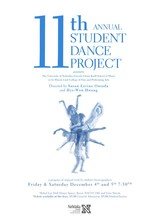 Student-led dance recitals are Dec. 4-5