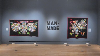 New exhibit features male quilters