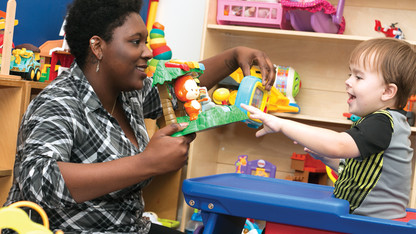 Students gain skills in early childhood autism disorders