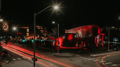 Husker pride fires up for Glow Big Red