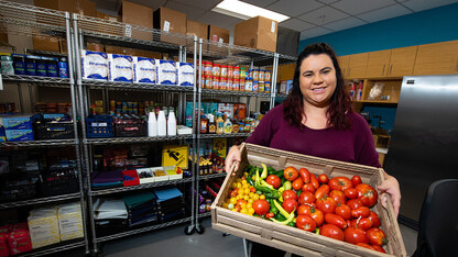 Donations help secure food, hygiene items for students in need